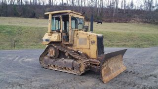 1990 Caterpillar D4h Series 3 Dozer Crawler Tractor Diesel Engine Cat Hydraulics photo