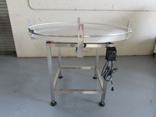 Stainless Steel  Accumulation Rotary Table 48