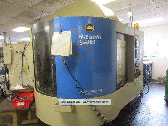 Hitachi Seiki Ds - 250 Cnc Vertical Machining Center W/ Auto Pallet Changer Milling Machines photo