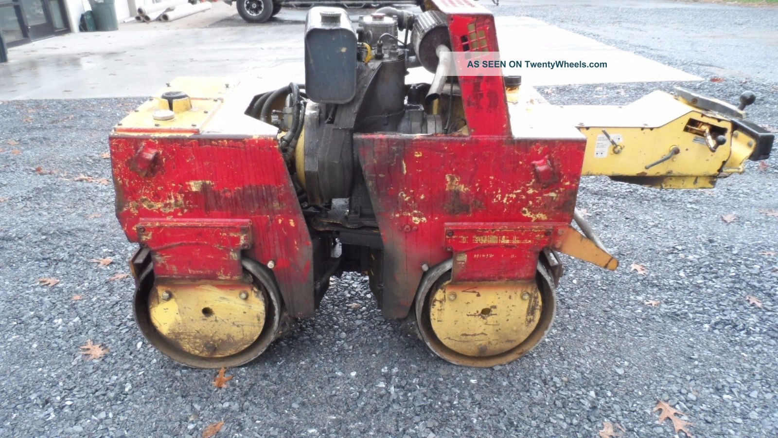 Bomag Bw75d2 Walk Behind Vibrotory Roller Diesel Fully