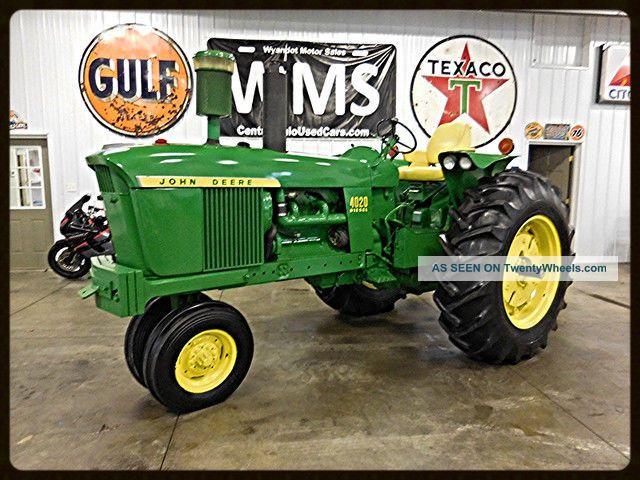Jd Tractor Paint : John deere diesel antique vintage restored