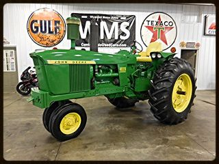 1967 John Deere 4020 Diesel Antique Vintage Restored Tractor Wms Paint Tires photo