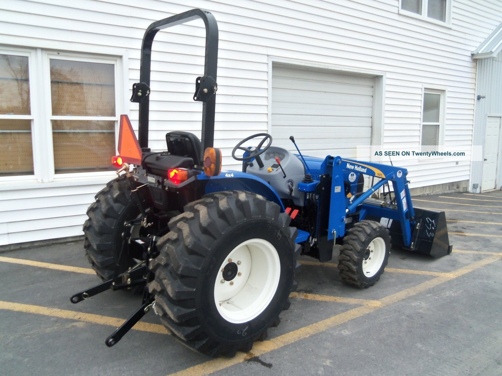 Hydrostatic Transmission Tractor : Holland workmaster compact tractor hydrostatic