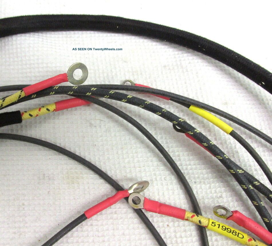 Farmall A Wiring Harness Part 51998d For Lights