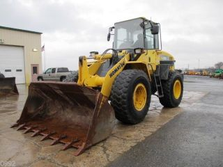 2006 Komatsu Wa200 - 5 Wheel Loader,  Cab,  A/c,  Gp Bucket W/teeth,  Low 5875 Hours photo