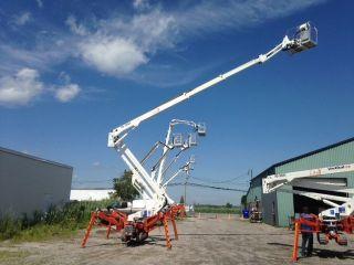 Easy Lift Compact Tracked Atrium Spider Lift 70 - 36aj Hybrid,  2014, photo
