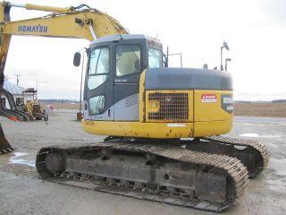 2004 Komatsu Pc228uslc - 3 Excavator,  Zero Tail Swing,  Auxiliary Hydraulics,  Thumb photo