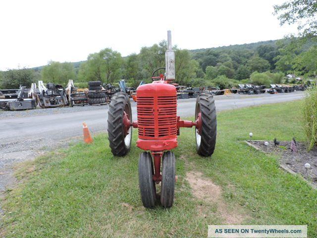 Tractor Pto Lift Bar : International farmall m tricycle farm tractor pto rear