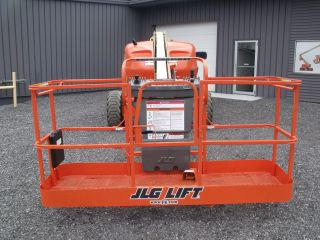 2001 Jlg 400s 4x4 Diesel - Serviced/inspected By Jlg Authorized Service Center photo
