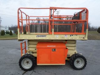 2007 Jlg 260mrt 26 ' Mini Rough Terrain Compact Scissor Lift All Terrain Scissor photo