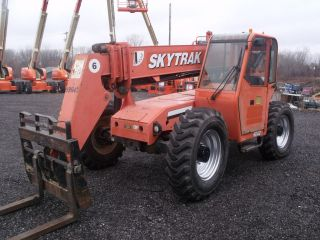 2007 Skytrak 6042 Full Cab,  Service/inspected By A Jlg Service Center photo