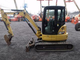2013 Cat 304e Cr Mini Excavator photo