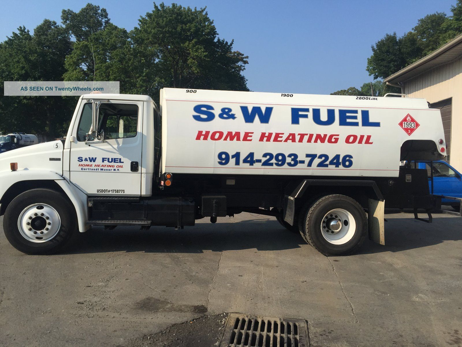 2003 Freightliner Fl70 Fl 70 Heating Oil Truck
