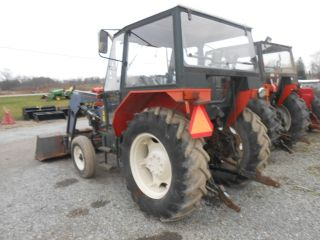 Zetor 5211 With Cab And Loader In Pa photo