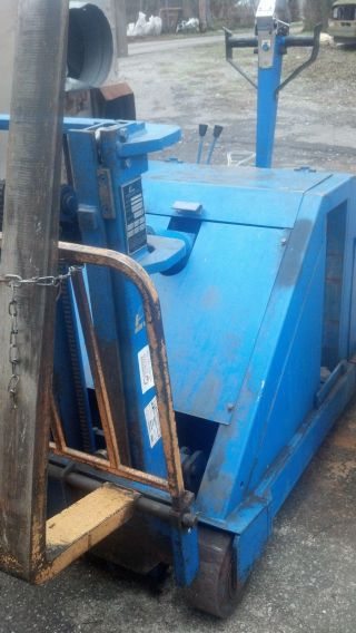 Blue Giant Electric Forklift Walk Behind photo