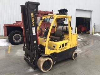 2007 Hyster S120ft.  12000 Lb Capacity Lp Gas Forklift.  208