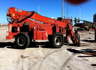 Forklift,  Traverse Lift,  Model Tl 10049,  Rough Terrain,  Variable Reach photo