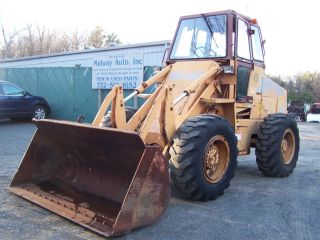 1988 Case W - 14b Wheel Loader photo