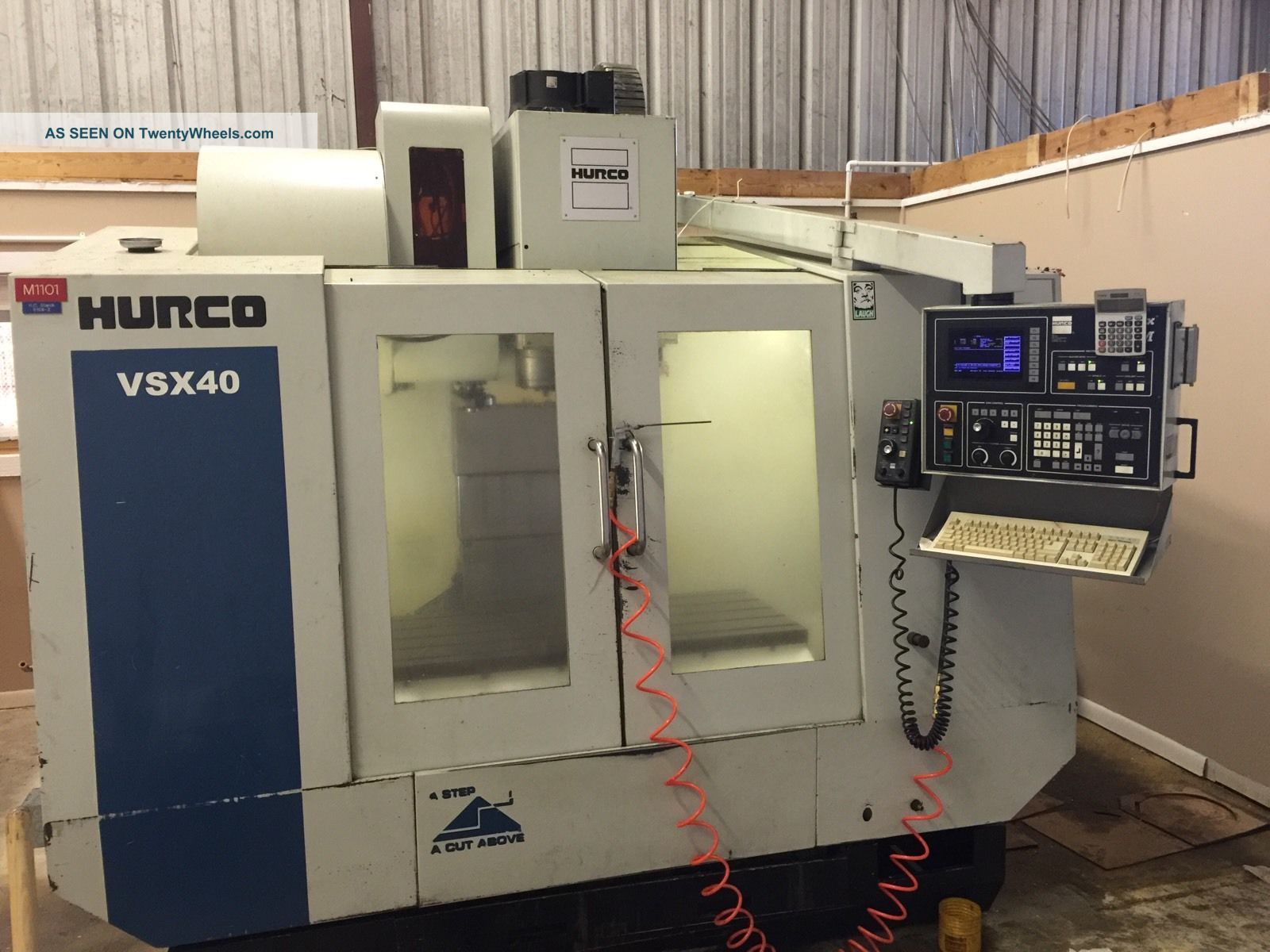 Cnc Mill Hurco Vsx 40 Milling Machines photo