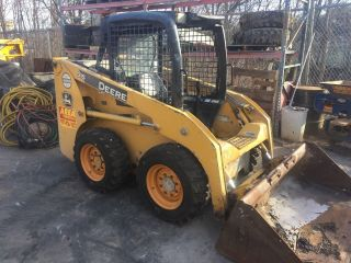 Heavy Equipment Skid Steer Loaders Commercial Vehicle
