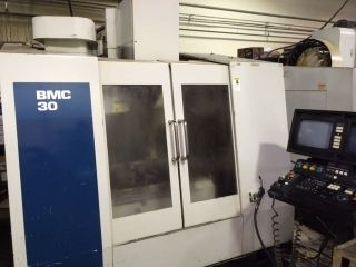 1997 Hurco Bmc 30 Vertical Machining Center Mill Ct40 24 Station Atc Utimax Cnt photo