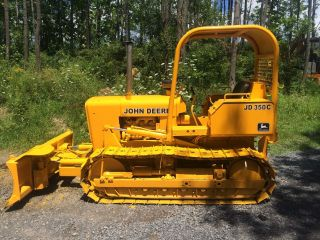 John Deere 350c Crawler Bulldozer Dozer Loader photo
