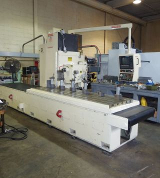 Cnc Horizontal Mill Cincinnati Milacron 850sx Control photo
