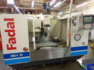 Fadal 4020ht 4 Axis 48x20 Table Ridgid Tap 10,  000rpm Remaned 2004 photo