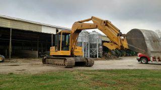 John Deere 690ba Hydraulic Excavator W/thumb Cab photo