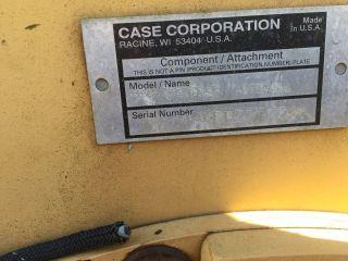 Case 960 Trencher Attachment photo