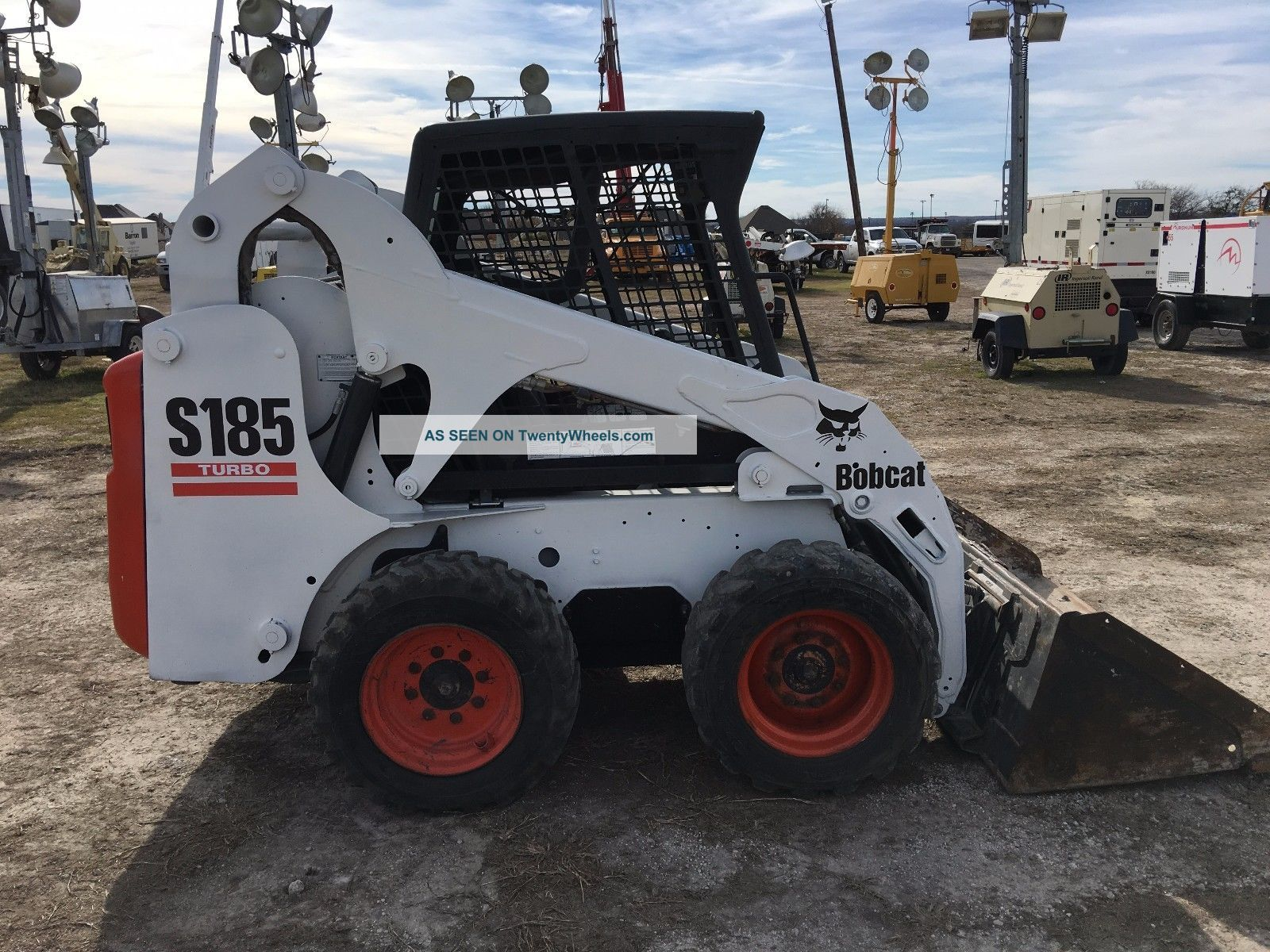 Bobcat S185 Skid Steer Loader High Flow Auxiliary Hydraulics