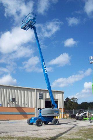 Genie S40 Boom Lift,  46 ' Work Height,  2006,  4wheeldrive,  Diesel, ,  Painted photo