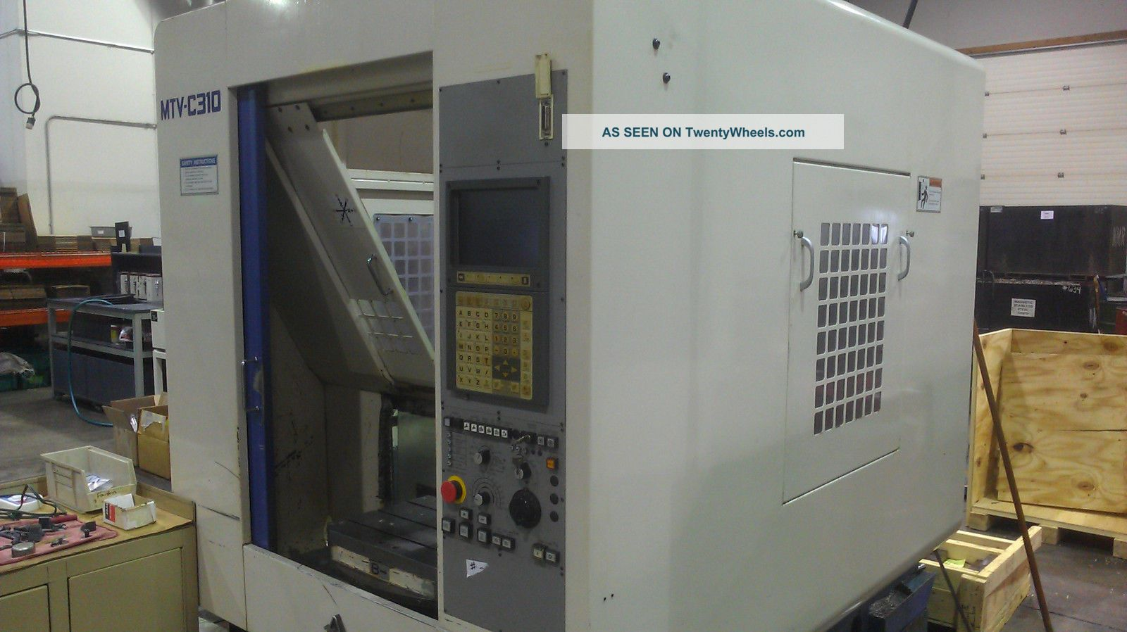 Miyano Mtv - C310 : 3 - Axis Cnc Drilling And Tapping Machine W/ Rotating Work Table Drilling & Tapping Machines photo