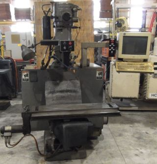 Bridgeport 2 Hp 3 Axis Milling Machine With Boss 10 Control photo