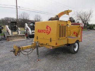 Rayco Rc12 Towable Wood Chipper photo