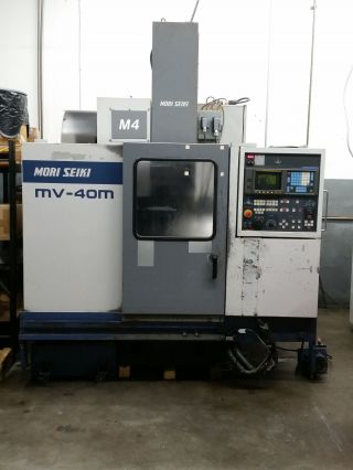Mori Seiki Mv - 40m Cnc Vertical Milling Center With 4th Axis photo