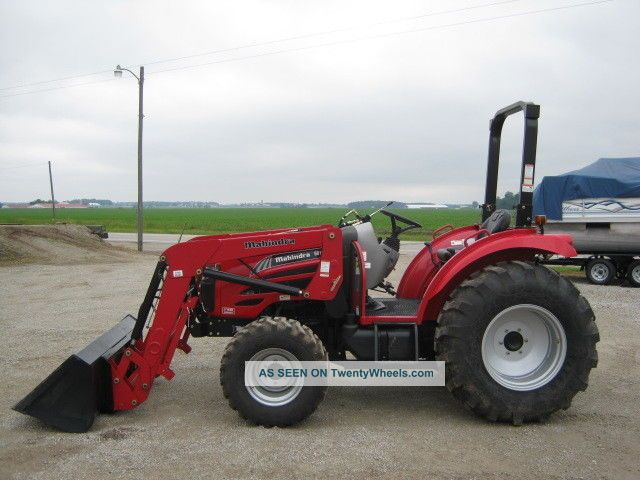 2014 Mahindra 5010 Tractor 4wd Ml151 Quick Attach Front