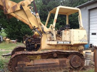 John Deere 755b Loader 4 In 1 Bucket,  Inoperable,  Or photo