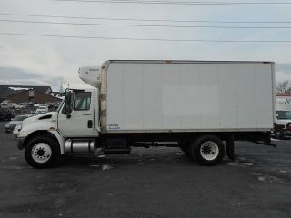 2008 International 4300 Reefer Freezer Box Truck photo