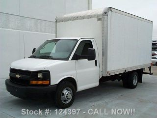2012 Chevrolet Express 3500 Box Truck Dually Cruise Ctl photo