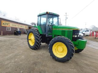 John Deere 7800 Tractor Low Reserve photo