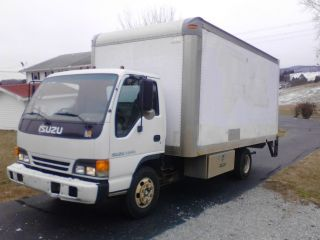 2002 Isuzu Npr Box Truck photo