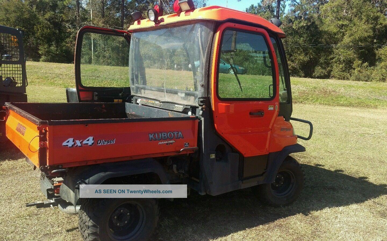 Kubota Rtv900 Utility Vehicle : Kubota rtv utility vehicle