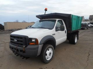 2006 Ford F450 4x4 Landscaping Dump Truck photo