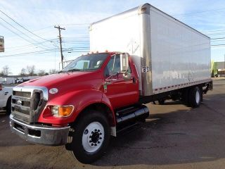 2011 Ford F750 24 ' Box Truck With Lift Gate photo
