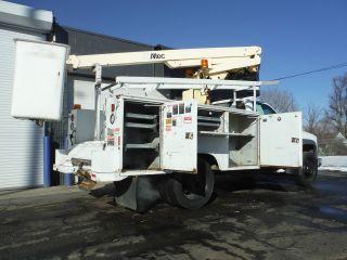 2000 Gmc C - 3500hd Service Bucket Telsta Boom Truck photo
