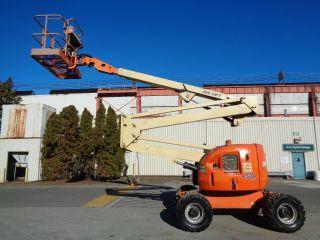 Jlg 450a 45ft 4x4 Rough Terrain Articulating Boom Man Aerial Scissor Lift photo