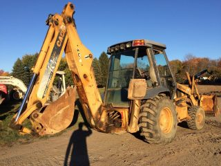 Case 580 L Series Ii 4wd Tractor Loader Backhoe photo