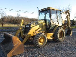 1997 Caterpillar 426c 4x4 Tractor Loader Backhoe W/ Cab photo