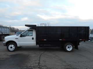 2004 Ford F550 Chipper Landscaping Truck Diesel photo